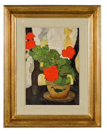 Nicolae TONITZA - Pintura - Vase de Fleurs