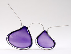 Fabienne PICAUD - Sculpture-Volume - Double-Violette