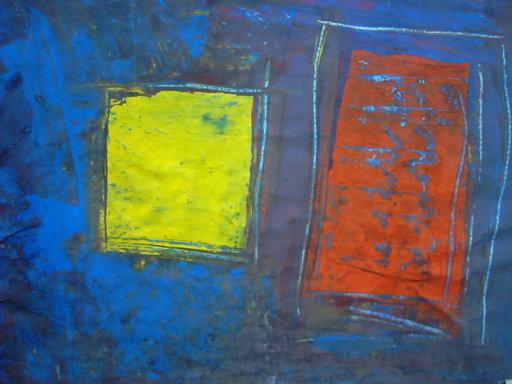 Christian ARROM - Peinture - chaos 11