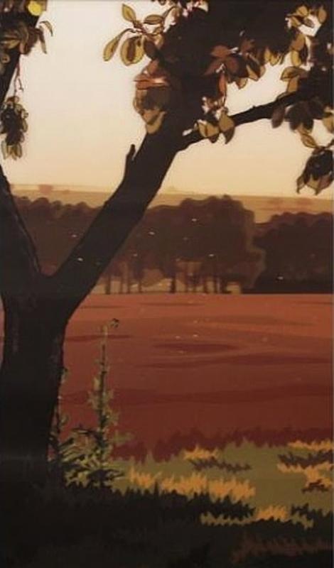 Julian OPIE - Estampe-Multiple - Evening Sun