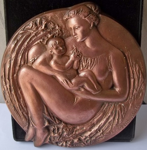Volodymyr ODREHIWSKI - Sculpture-Volume - maternite