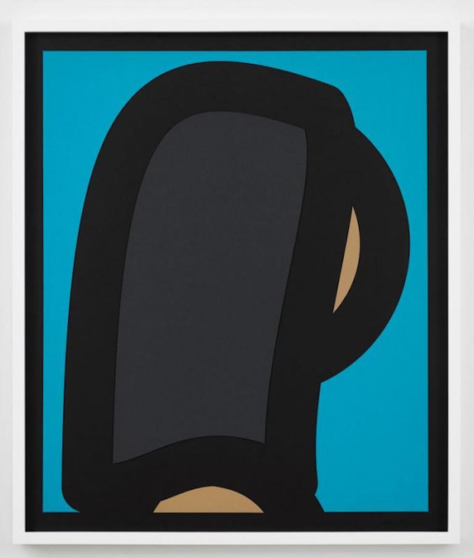 Julian OPIE - Stampa Multiplo - Paper Head 2