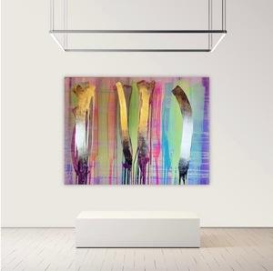 Alexandra BERNARDINI - Painting - 135x185cm, Phantom 02