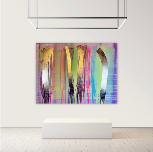 Alexandra BERNARDINI - Gemälde - 135x185cm, Phantom 02