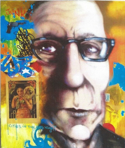 DAZE - Painting - William Burroughs subconcious