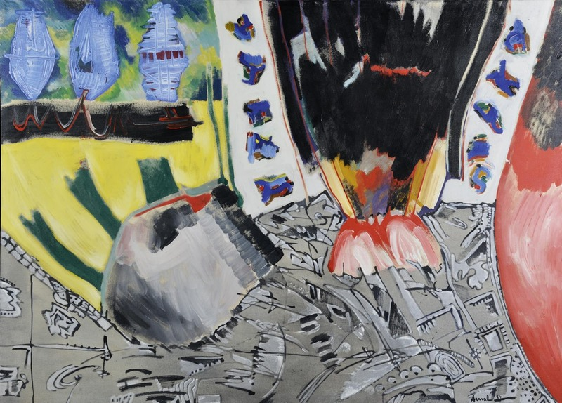 François ARNAL - Pintura - Le Plumage - Le ramage