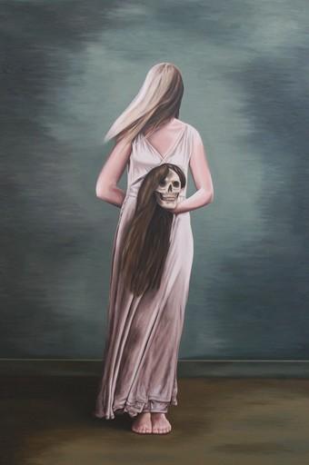 Erlend STEINER LOVISA - Painting - Tianda 2 (Memento mori)    (Cat N° 5934)