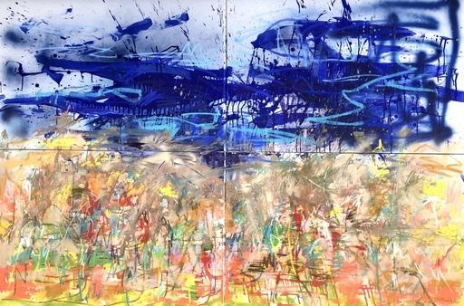Nicole LEIDENFROST - Gemälde - Am Strand von Butjadingen