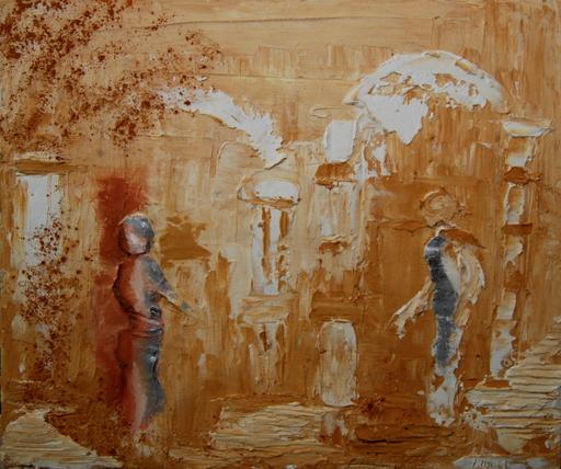Serge Louis TUQUET - Painting - Rêve Antique