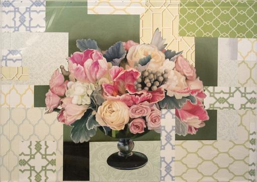 Peter HOFFER - Pittura - Arrangement in Soft Pink