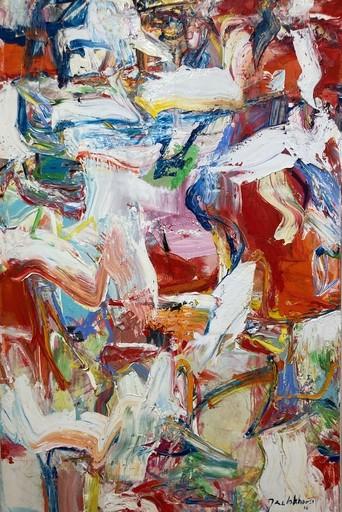 Jan VAN LOKHORST - Gemälde - Symphonie en rouge