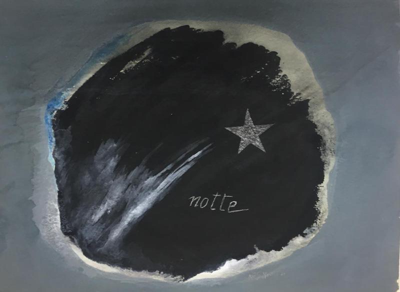 LELLO MASUCCI - Painting - Studi di sacchi di notti napoletane