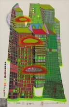 Friedensreich HUNDERTWASSER (1928-2000) - Good morning city