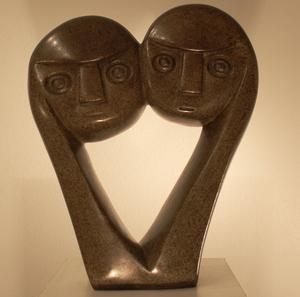 Edward CHIWAWA - Escultura - Lowers