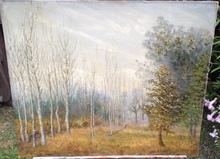Alberto CECCONI - Pintura - Paisaje con Árboles