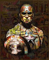 Hans DIRTY - Print-Multiple - Captain America