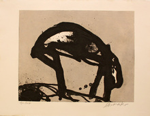 Emil SCHUMACHER - Print-Multiple - 25/1990