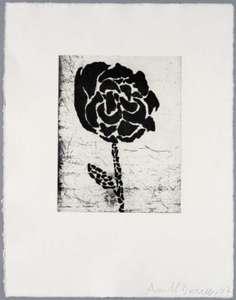 Donald BAECHLER - Print-Multiple - Five flowers (III)