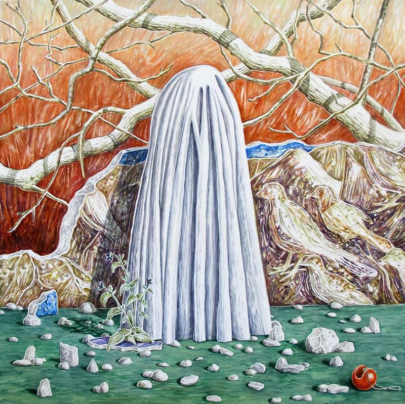 Emilie PICARD - Pintura - La peine d'humour
