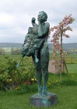 Patrick VILLAS - Sculpture-Volume - La femme à l'oie