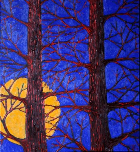 Jacques TANGE - Peinture - Suitable trees     (Cat N° 4703)
