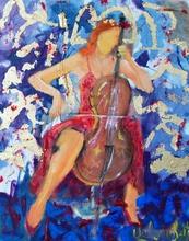 Valerio BETTA - Painting - La musicista