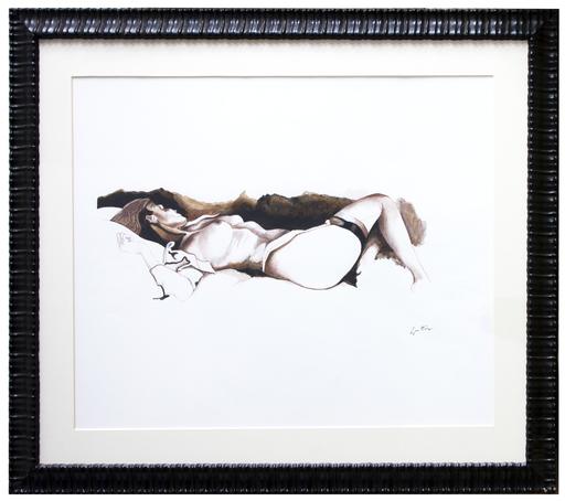 Renato GUTTUSO - Pintura - Nudo
