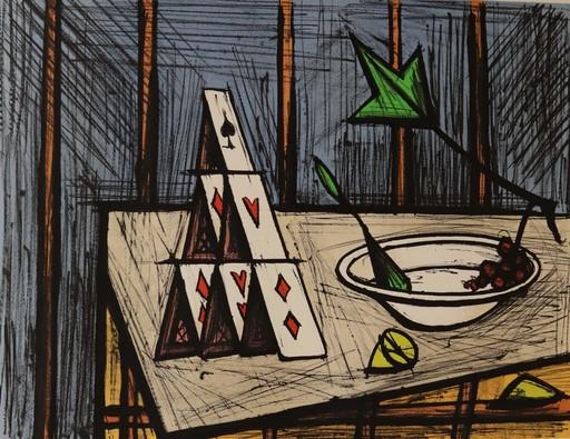 Bernard BUFFET - Print-Multiple - Nature morte aux cartes