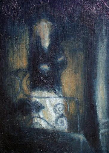 Christos GIANNOPOULOS - Gemälde - Untitled 01 (zerkalo)