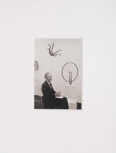 Otto UMBEHR - Photography - Marcel Duchamp in the exhibition Marcel Duchamp (...)