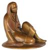 Ernst BARLACH - Escultura - Sitzendes Mädchen