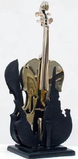 Fernandez ARMAN - Scultura Volume - La Fenice n. 2