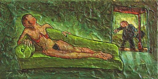 François DUBOC - Painting - La récompense