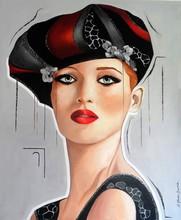 Sylvie ABADIE-BASTIDE - Painting - ANUSKA