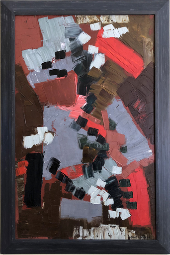 Oscar GAUTHIER - Pittura - Les Brules No. 1  CQ ZZC