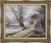 Hugues Claude PISSARRO - Pintura - L'Orme du Moulin