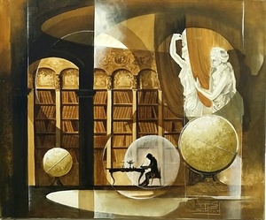 Roger SURAUD - Pittura - Les Muses