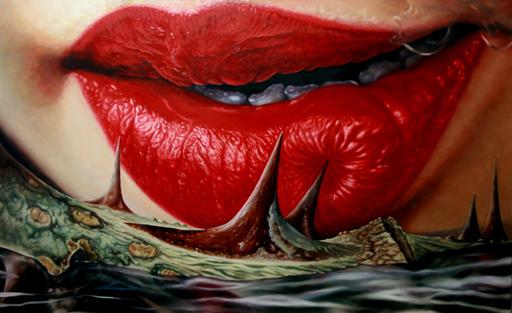Sung Jin KIM - Gemälde - Fateful