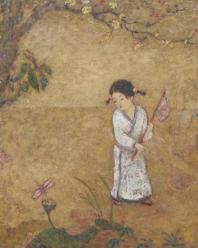 JIA Juanli - Painting - Libellule