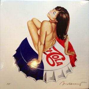 Mel RAMOS - Escultura - Pepsi Cola (Enamel)