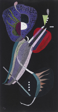 Wassily KANDINSKY - Painting - The Resolution (SOLD)