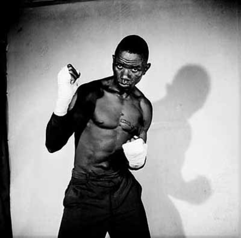 Malick SIDIBÉ - Photography - The boxeur