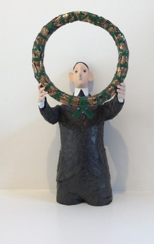 CHASSE-POT - 雕塑 - Homme à la couronne
