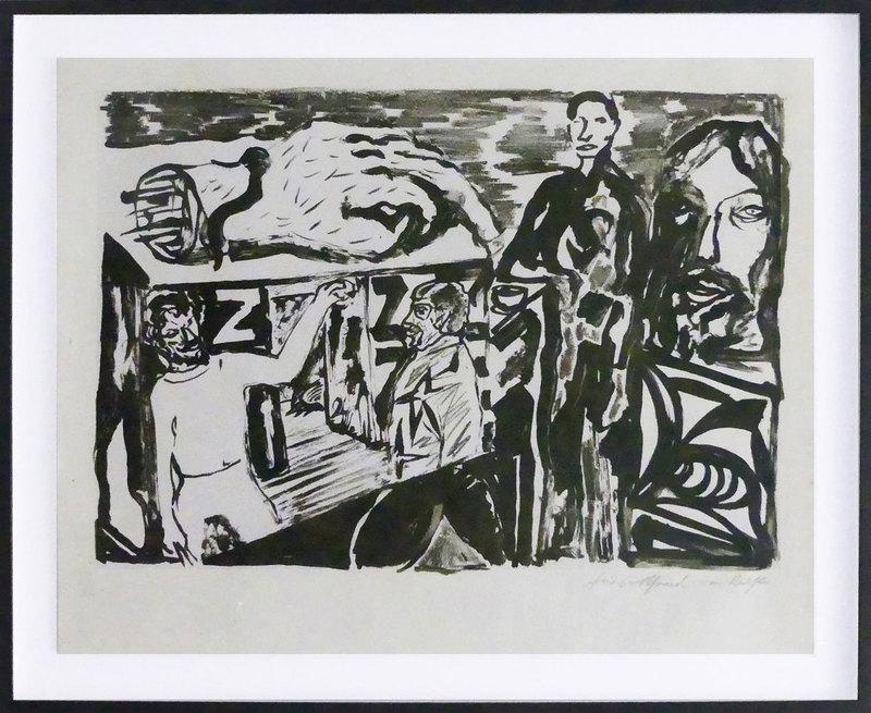 A.R. PENCK - Print-Multiple - Dresdner Künstler