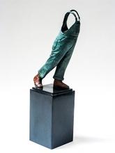 Guillaume WERLE - Sculpture-Volume - A Coluche