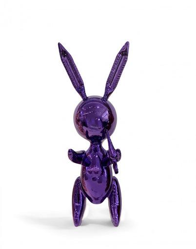 Jeff KOONS - Sculpture-Volume - Ballon Rabbit Purple