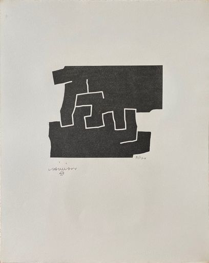 Eduardo CHILLIDA - Estampe-Multiple - 10e anniversaire Fondation Maeght