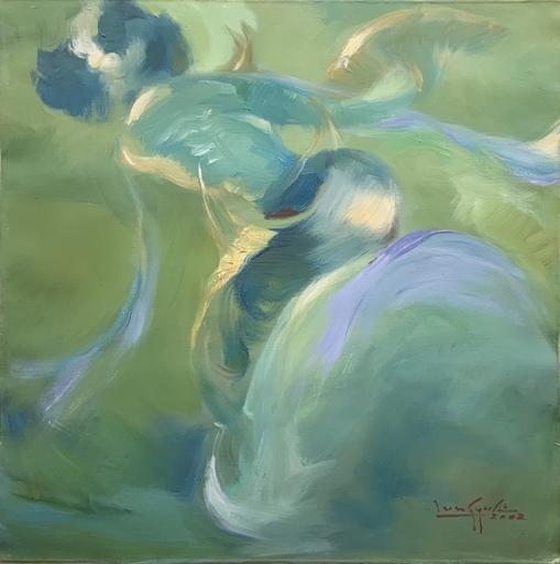 余龍義 - 绘画 - Burmese dance