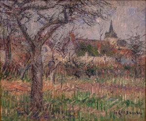 Gustave LOISEAU - Painting - Le Close de Monsieur Janson, Le Vaudreuil, Eure