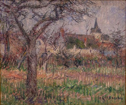 Gustave LOISEAU - Peinture - Le Close de Monsieur Janson, Le Vaudreuil, Eure